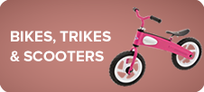 Bikes, Trikes & Scooters