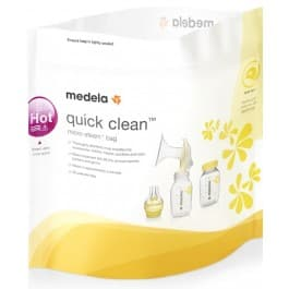 Medela Quick Clean Microwave Bags - 5 Pack