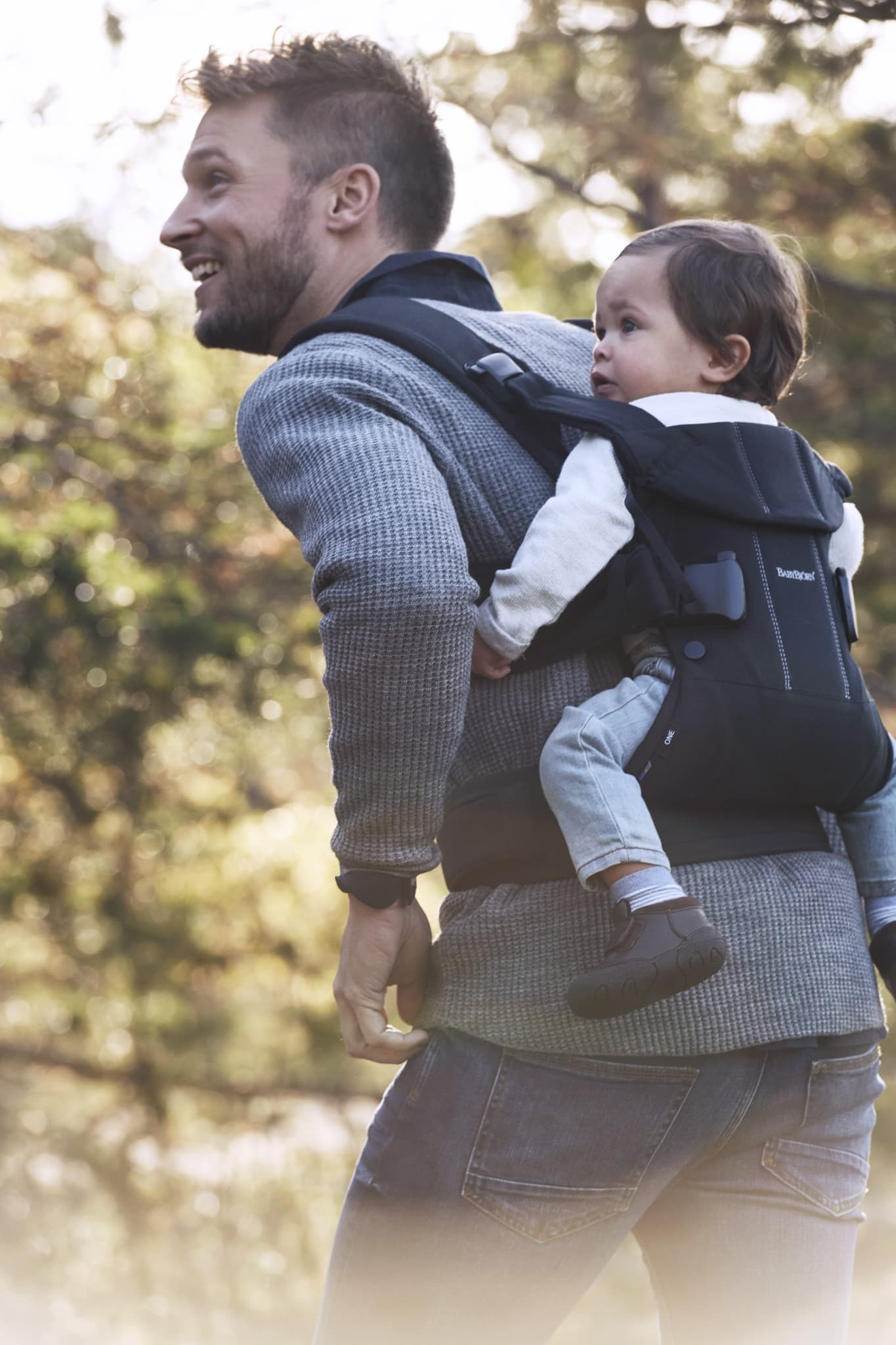 3f69f9f98f2 BabyBjorn One Carrier Cotton - Black