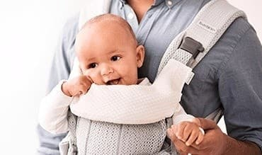 c53b9da4357 BabyBjorn Teething Bib For One Carrier