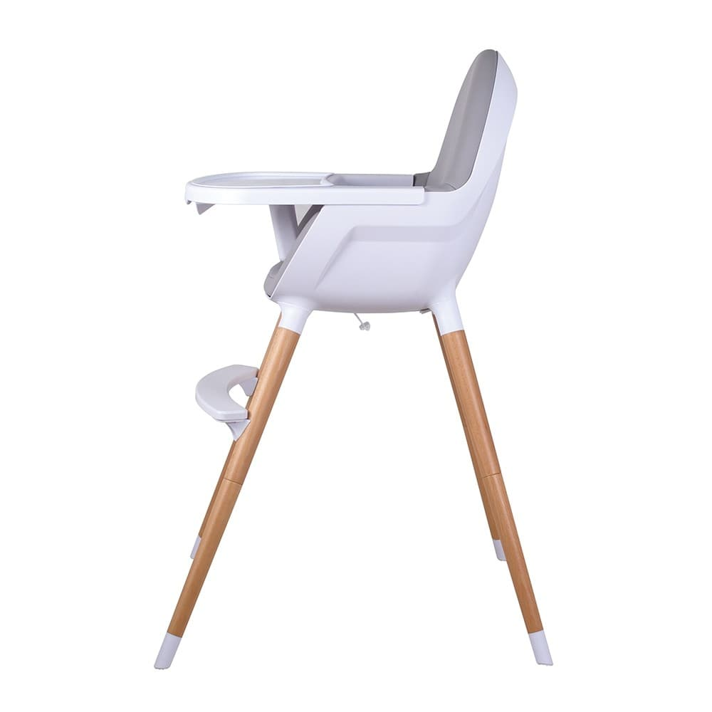 The Childcare Timber Pod High Chair Is Stylish Safe And