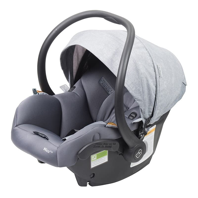 maxi cosi mico plus infant carrier isofix nomad grey. Black Bedroom Furniture Sets. Home Design Ideas