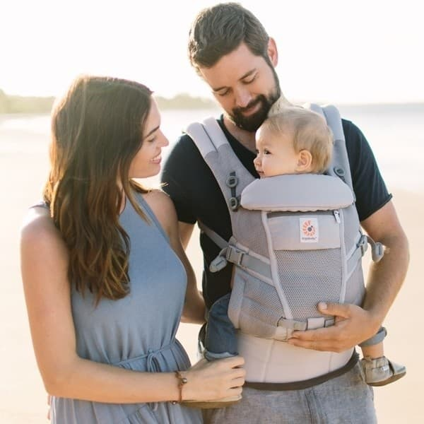 Ergobaby Adapt Cool Air Carrier Pearl Grey