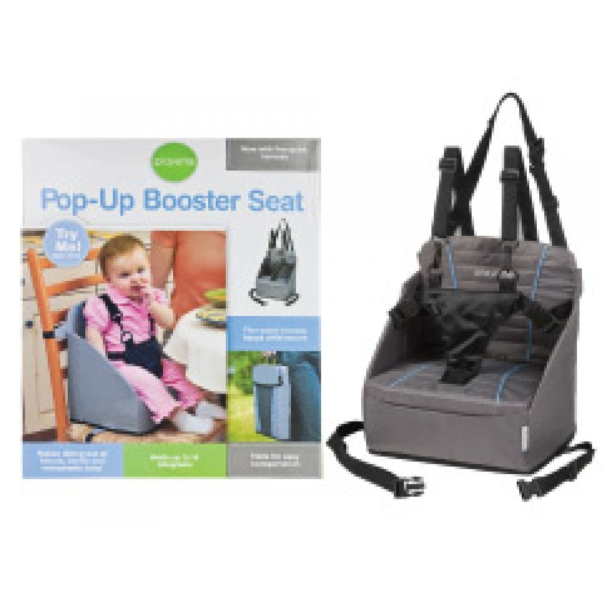 Playette Pop Up Booster Seat Grey Baby Amp Toddler Town