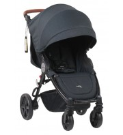 Steelcraft Agile Elite Travel System Stroller - Black Linen