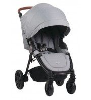 Steelcraft Agile Elite Travel System Stroller - Grey Linen