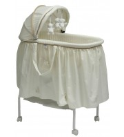 Babyhood 3 Bears Bassinet - Cream