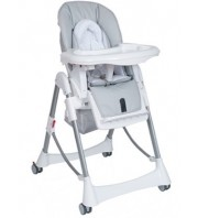 Steelcraft Messina DLX High Chair - Silver