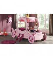IQ Princess K Carriage Bed - Pink - CLEARANCE - CLICK AND COLLECT ONLY!