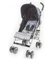 Love n Care Push n Go Stroller - Black Rock