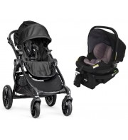 Baby Jogger City Select Stroller & City Go Infant Carrier Package