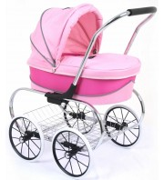 Valco Baby Just Like Mum Princess Dolls Stroller - Hot Pink
