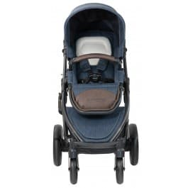 Steelcraft Strider Compact Deluxe Edition Textured Collection Stroller - Moonstone