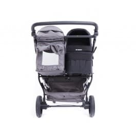 Baby Monsters Easy Twin 3.0 Texas Black plus Main Carrycot